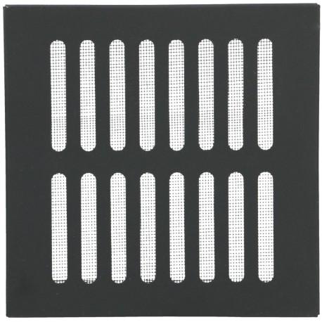 Kratka na komin 14x14 czarna