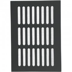 Kratka na komin 14x21 czarna