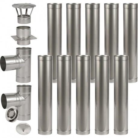 Wkład kominowy kwasoodporny fi 140