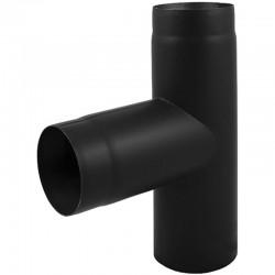 Trójnik 90° czarny 2 mm fi 120