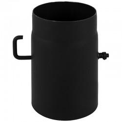 Szyber czarny 2 mm fi 120