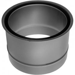 Wkładka dwuścienna czarna 2 mm fi 130