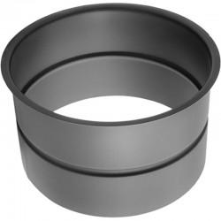 Wkładka jednościenna czarna 2 mm fi 180