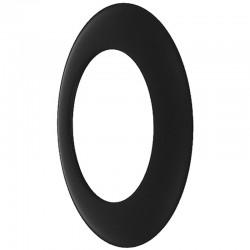 Rozeta czarna 2 mm fi 200
