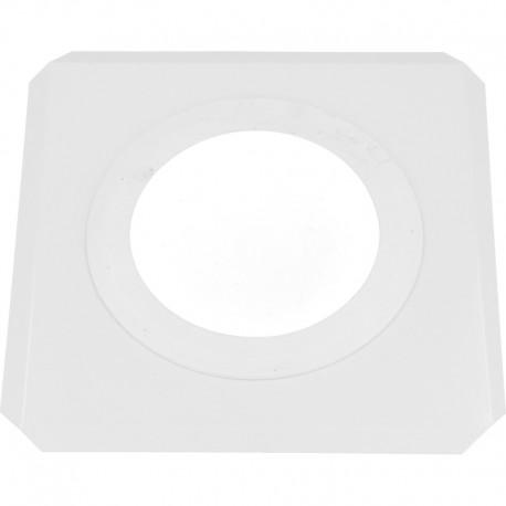 Rozeta kwadratowa kwasoodporny 60/100 biała