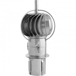 Nasada turbowent kwasoodporny fi 200 pod ceramikę otwierany