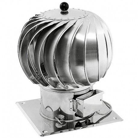 Turbowent hybrydowy aluminiowy fi 300 z podstawą
